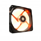 NZXT RF-FZ120-R1 Airflow 120mm Red LED Case Fan, 3-Pin, 1200+/-200 RPM, 59.1 CFM