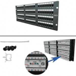 CAT6 96-Port 110-IDC Patch Panel