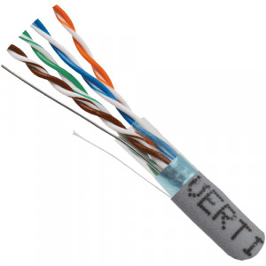 Vertical Cable 1000-Foot Category-5e Shielded STP 350MHz Cable