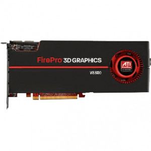 AMD 100-505603 FirePro V8800 2GB PCI Express 2.0 x16 Workstation Video Card.