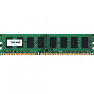Crucial CT51264BD186DJ 4GB 240-Pin UDIMM DDR3L 1866MHz (PC3-14900) Desktop Memory