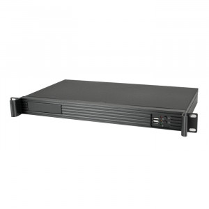 Black Athena Power 1U Rackmount Server Case RM-1U122ITXH2130
