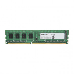 Crucial CT25664BD160B 2GB 240-Pin UDIMM DDR3L 1600MHz (PC3-12800) Desktop Memory