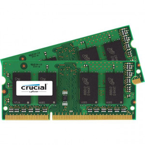 Crucial CT2K51264BF186DJ 8GB (2 x 4GB) 204-Pin SODIMM DDR3L 1866MHz (PC3-14900) Notebook Memory