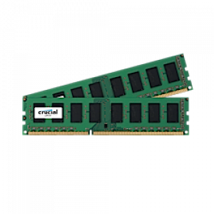 Crucial CT2K204864BD160B 32GB (2 x 16GB) 240-Pin UDIMM DDR3L 1600MHz (PC3-12800) Desktop Memory