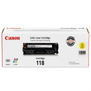 Canon 118 Toner Cartridge 2659B001AA, Compatible Canon imageCLASS MF8350Cdn Printer, Yellow.