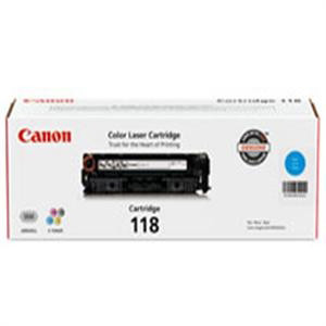 Canon 118 Toner Cartridge 2661B001AA, Compatible Canon imageCLASS MF8350Cdn Printer, Cyan.