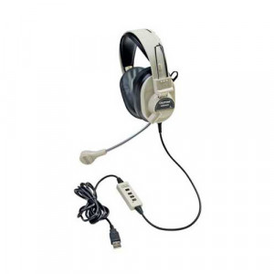 Califone 3066-USB Multimedia Headset With Mic