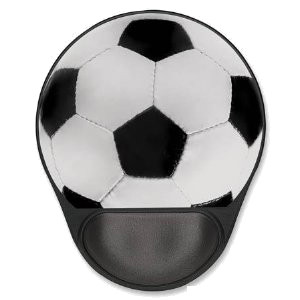 Manhattan Ergonomic Gel Football / Soccer Mouse Pad, P/N: 423182