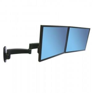 Ergotron 200 Dual Monitor Arm - Black