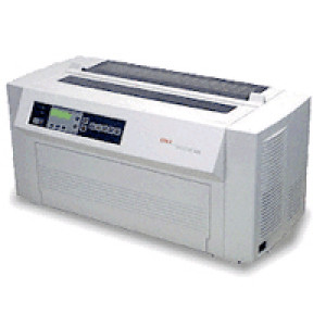 Okidata PACEMARK 4410 Network Ready Parallel/Serial Impact/Dot Matrix Printer 61800901