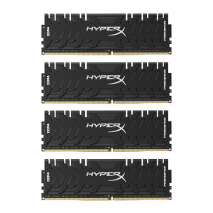 Kingston HX432C16PB3K4/16 HyperX Predator 4 x 4GB 3200MHz DDR4 Quad Channel Desktop Memory