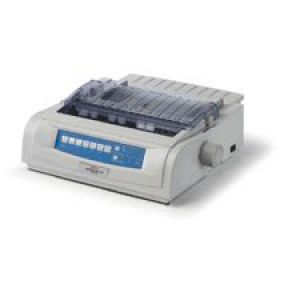 Okidata MICROLINE 420 Parallel/USB Impact/Dot Matrix Printer 62418701
