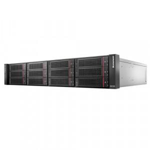 Lenovo ThinkServer SA120 2U Rack Mountable DAS Array 70F10000UX, 6Gb/s SAS and Serial ATA/600 Controller, 16x Bays, w/ Mini-SAS