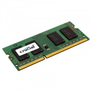 Crucial CT12864BF160B 1GB 204-Pin SODIMM DDR3L 1600MHz (PC3-12800) Notebook Memory