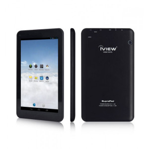 Iview 733TPC 7in Tablet PC, Quad Core Cortex A7, 512MB DDR3, 8GB Storage, WiFi, Dual Camera, Android 4.4.