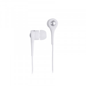 TDK 77000021830 Glow in the Dark SP80 Smartphone Active Headphones with Microphone, White