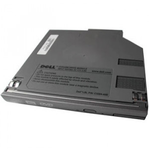 Refurbished: Replacement Laptop 4X DVD+RW Drive for Dell Inspiron 300m / 500m / 600m / 8500, Latitude D500 / D400 / D600 / D520 / D800, Precision M20 / M60 / M70 Notebook, P/N: 7W036.-lpe