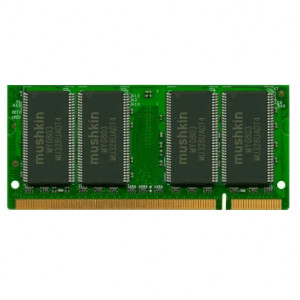 Mushkin Essentials 512MB DDR 400 (PC-3200) 200-Pin Laptop Memory 991306