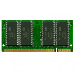 Mushkin Essentials 1GB DDR 400 PC-3200 200-Pin Notebook Memory 991307