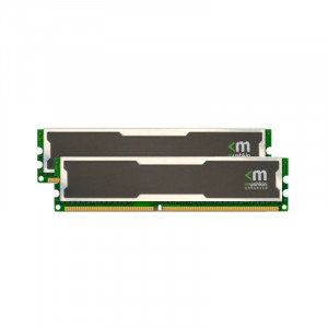 Mushkin Enhanced Silverline 2GB (2x1GB) 184-Pin DDR 400MHz (PC-3200) Dual Channel Desktop Memory 996754