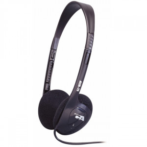 Cyber Acoustics ACM-70B 3.5mm Connector Supra-aural Lightweight PC / Audio Stereo Headphone.