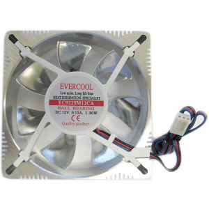 Ever Cool FAN-AL9025 92mm Aluminum Low Noise Frame Case Fan