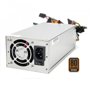 Athena Power 700W ATX12V V2.3 / EPS12V Single 2U IPC Server Power Supply AP-U2ATX70FEP8