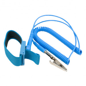 Kingwin ATS-W24 Anti-Static Wrist Strap, 6 Feet, PU Plastic, PVC Molding, w/ Grounding Wire
