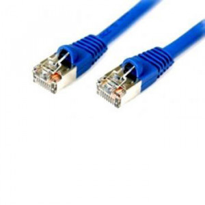 MRP 6ASMB-50BLU 50FT Cat.6a STP Patch Cable Molded Boots