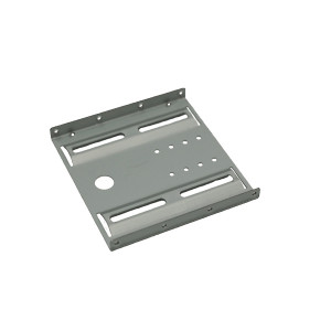 Bytecc BRACKET-25SA 2.5 to 3.5 HDD/SSD Metal Mounting Kit with SATA+Power Cable Silver