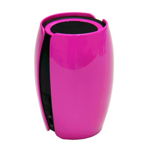 Pink Kinyo Bluetooth 3.0 Wireless Portable Speakers