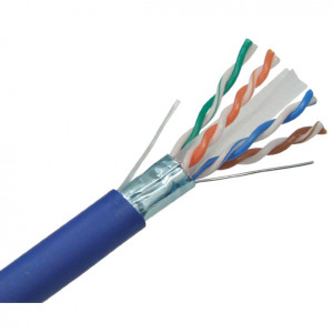 CAT6A Plenum Bulk Ethernet Cable C6APS-1090BL