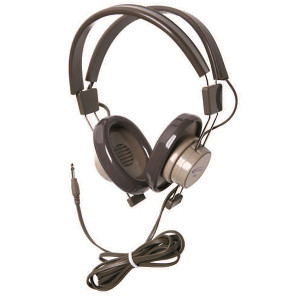 "Califone 610 1/4"" Mono Plug Binaural Headphones 610-41"