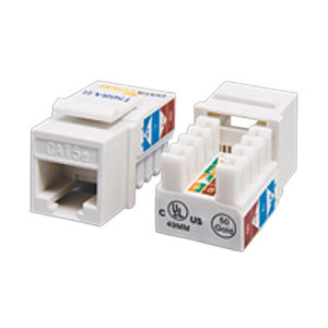 Cat5e Tool Type ( punch down ) RJ45 Keystone Jack