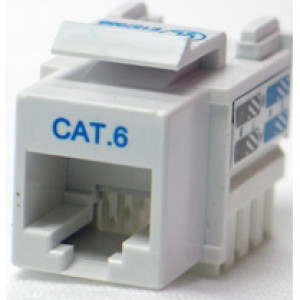 Cat6 Tool Type ( punch down ) RJ45 Keystone Jack
