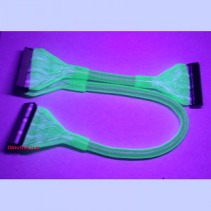 Glow in the Dark Style! Rounded ATA-100/133 IDE Cable