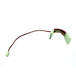 EverCool MOLEX-Y 4 pin to 3 pin Female Power Cable, P/N: CB-YA-4-3