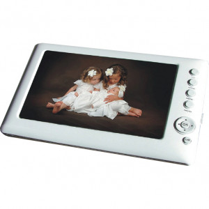 Sungale 7inch LCD eReader and Digital Album CD706A, Built-in Lithium Battery and Speakers.