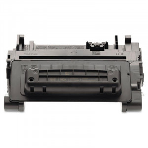 eReplacements CE390A-ER Replacement Black Toner Cartridge, for HP Laserjet M4555MFP.