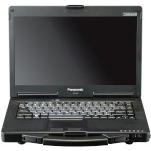 Panasonic Toughbook 53 14.1in LED Notebook CF-53ASGZX1M, Intel Core i5 2520M CPU, 4GB DDR3, 320GB HDD, DVD+/-RW (+/-R DL), HDMI, Gigabit Ethernet, Windows 7 Pro.