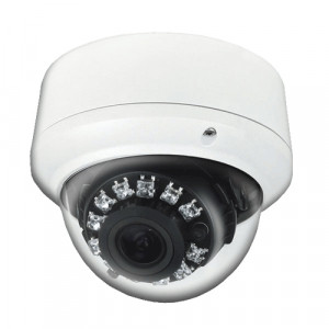 LTS CMD3563 12 pcs Super Flux IR LEDs Vandal-proof and IP 66 Weather-proof Aluminum Dome Camera