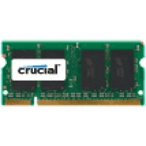 Crucial 1GB DDR2 800 (PC2-6400) Notebook Memory CT12864AC800