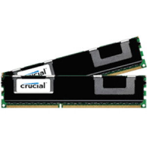 Crucial 32GB (16GBx2) DDR3 1066MHz (PC3-8500) 240-Pin Dual Channel Server Memory