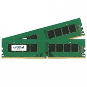 Crucial 16GB (8GBx2) 288-Pin DDR4 2133 (PC4-17000) Dual Channel Desktop Memory
