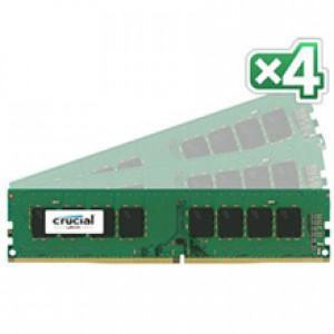 Crucial CT4K8G4DFD8213 32GB (8GBx4) 288-Pin DDR4 2133 (PC4-17000) Quad Channel Desktop Memory