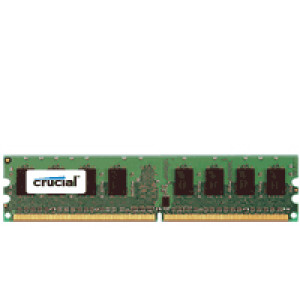 Crucial 4GB DDR2 PC2-5300 240-Pin DIMM Server Memory CT51272AB667