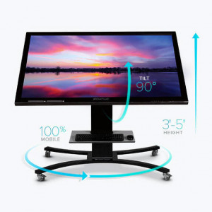 Clear Touch CTI-STAND-CONM Convertible Mobile Stand