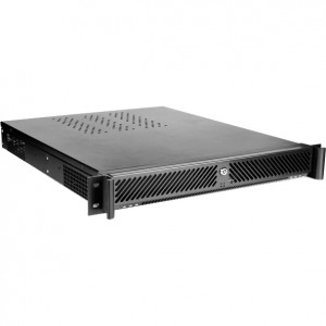 iStarUSA D-107V2 1.3U Industrial Leading Rackmount Chassis, Front USB2.0, w/ 4 x 50mm Fans.