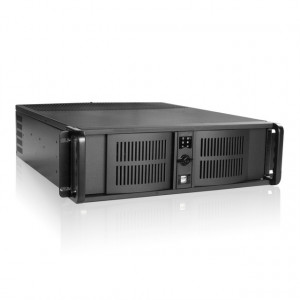 iStarUSA 3U Compact Stylish Rackmount Chassis D-300-FS
